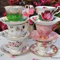 vintage tea-cups