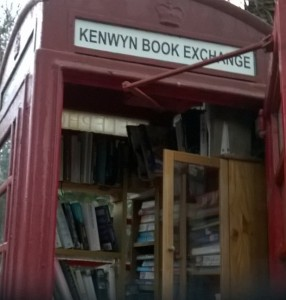 Kenwyn, Cornwall book exchange