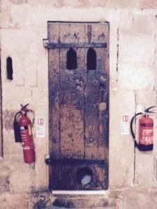 exeter cathedral door