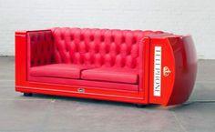 phone box sofa