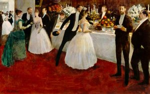 The Buffet (Jean-Louis Forain) 1884