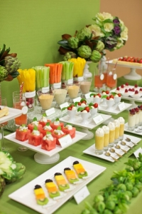 healthy buffet