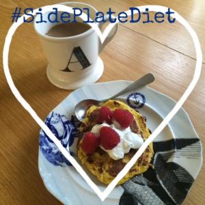 Side Plate Diet breakfast