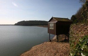 Dylan Thomas's hut, Laugharne