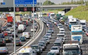 Motorway gridlock UK