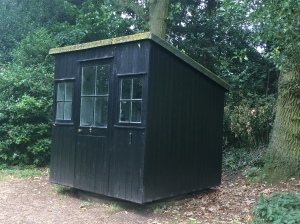 Shaw's writing hut