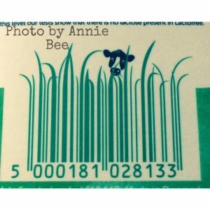 Arla Lactofree milk barcode