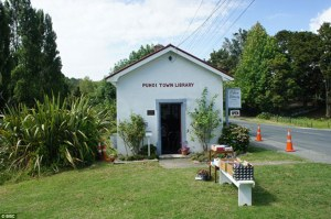 Tiny library New Zealand