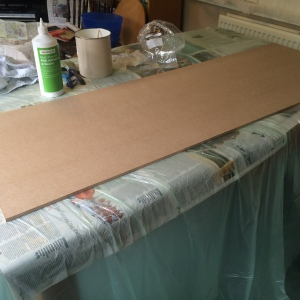 making a folding screen 1