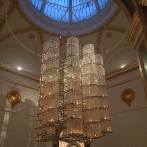 Ai Weiwei chandelier
