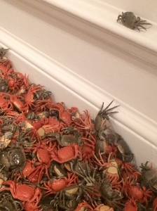 Ai Weiwei porcelain crabs