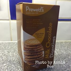 Prewett's gluten free chocolate digestives