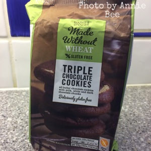 Marks and Spencer gluten free cookies