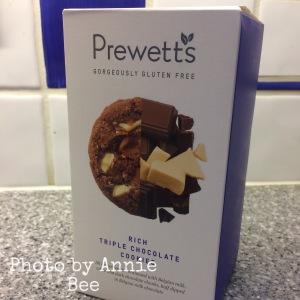 Prewett's gluten free chocolate cookies