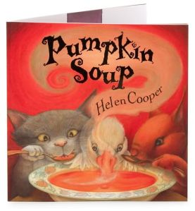 """Children's book """"Pumpkin Soup"""""""