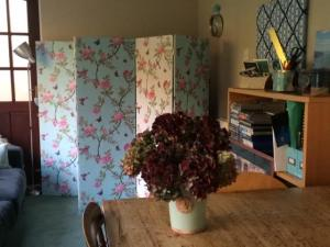 homemade folding screen wallpaper side