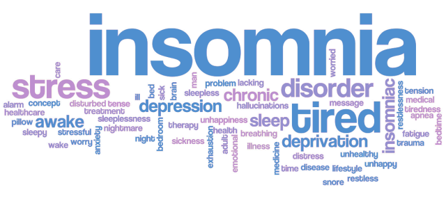 Insomnia words